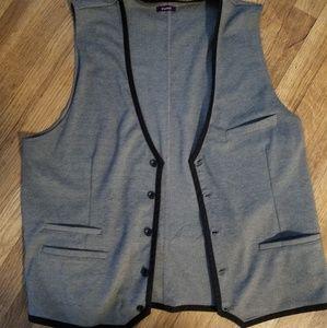 Mens Casual Wear Grey XL  Vest